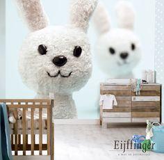 Inspiration: lovely baby bedrooms (Eijffinger 2) #babybedrooms #eijffinger #wallpaper