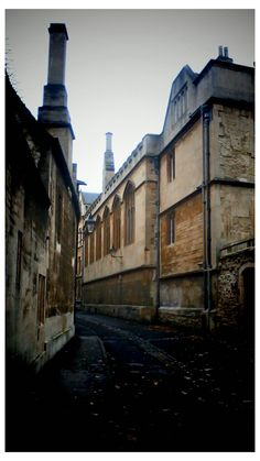 Outside the Covered Market, Oxford.