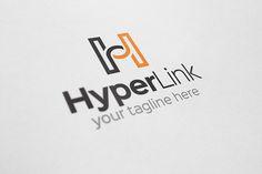 Hyper Link - H Letter Logo by Arslan on Creative Market