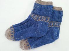 Bjarne, designet av Bitta Mikkelborg Socks, Knitting, Crochet, Fashion, Moda, Tricot, Fashion Styles, Breien, Sock
