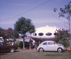 A Futuro house in Darwin - destroyed by Cyclone Tracy in 1974