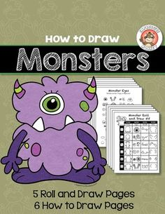 Art Lesson: How to Draw Monsters