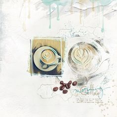 Scrapaneers October 2016 Digital Appistry Strategy.    Paper - Lynn Grieveson - This Life Here Gesso - Courtney's Designs October 2016 Artsy Template Watercolor - Anna Aspness Watercolor Brushes Morning Wordart - Anna Aspness Font - Coffee Shop and 1942 Report