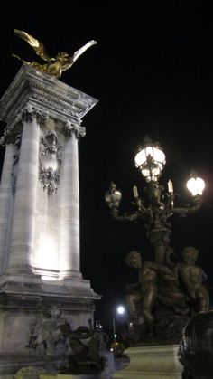 Pont Alexandre III in Paris, Île-de-France