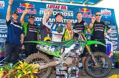 Austin Forkner won his first career overall today. Motocross Racer, Four Wheelers, Saturday Night Live, Dirt Bikes, Iron Man, Career, Life, Carrera, Iron Men
