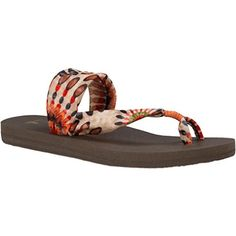 Sanuk Womens Yoga Sling It On Prints Sandal/Flip Flops/Slipper Footwear Size 10 Melon Pinwheel - http://flippshop.com/?product=sanuk-womens-yoga-sling-it-on-prints-sandalflip-flopsslipper-footwear-size-10-melon-pinwheel