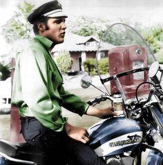 Elvis and Harley Davidson