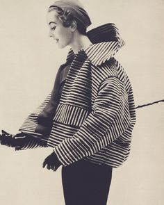 #lachasse  #voguemagazine 1952 #londonfashion #londoncouture #dresshistory...