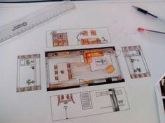 Schetsen # Interieuradvies # Woonkamer # Woningwens # Styling