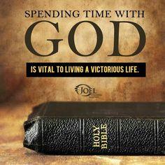 Spending time w God