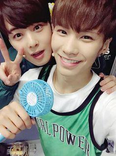 Eunwoo & Rocky