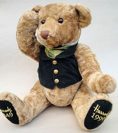 "Harrods London 150th Anniversary Teddy Bear Plush 19"" Tall - Sadly, we couldn't afford to take him home."