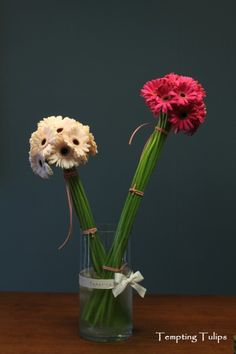 Gerbera Topiary by Tempting Tulips. 거베라 토피어리 http://temptingtulips.co.kr