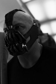 Tom Hardy in The Dark Knight Rises as Bane