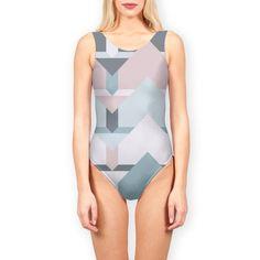 Scandi Waves Swimsuit by Daniela di Niro (@DesigndN) from €40.50 | miPic