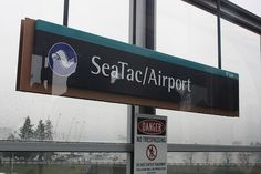 seattle airport sign - Google Search