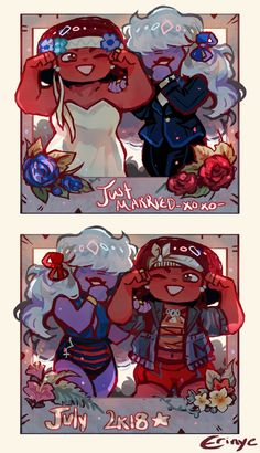Ruby and Sapphire by erinye Steven Universe Ships, Steven Universe Movie, Universe Love, Universe Art, Holly Blue, Storyboard Artist, Cartoon Tv Shows, Tag Art, Cartoon Network