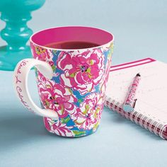 Lucky Charms Lilly Pulitzer Cafe Lilly Coffee Mug | Aureate Expressions Boutique