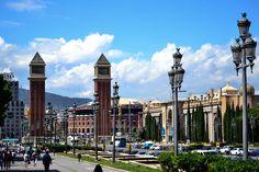 Barcelona - Vista desde el Museo Nacional de Arte de Cataluña