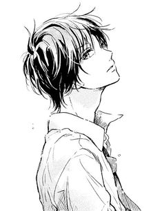 Hope you feel better soon. :) Don't give in thoughts so much. Wie Zeichnet Man Manga, Manga Boy, Handsome Anime Guys, Hot Anime Guys, Anime Boys, Boy Drawing, Manga Drawing, Draw Tips, Anime Boy Sketch