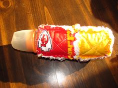 New Kansas City Chiefs inspired Baby Bottle by morethanbearscrafts, $4.95