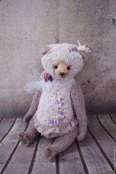 Teddy Bear / Купить Валенсия - сиреневый, мишка, мишка тедди, мишка ручной работы, мишки тедди, мишки