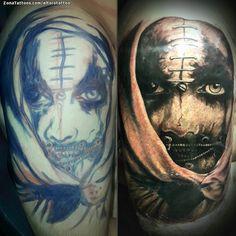 Tatuaje hecho por Rodrigo Alexis Casco de Tucumán (Argentina). Si quieres ponerte en contacto con él para un tatuaje/diseño o ver más trabajos suyos visita su perfil: https://www.zonatattoos.com/eltorotattoo  Si quieres ver más tatuajes de estilo gótico visita este otro enlace: https://www.zonatattoos.com/tag/125/tatuajes-goticos  Más sobre la foto: https://www.zonatattoos.com/tatuaje.php?tatuaje=109320