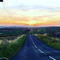 My journey home - heading for the #sunset