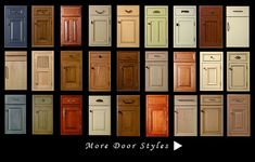 kitchen cabinet door | Click on thumbnails for larger image
