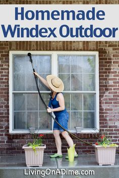 1000 Ideas About Window Cleaner Outdoor On Pinterest