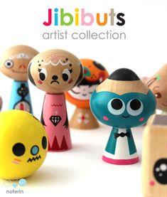 Jibibuts Wooden Toys Artist Series