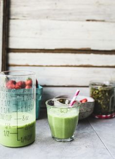 Matcha Granola and Iced Coconut Matchaccinos