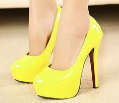 yellow designer heels - Google Search