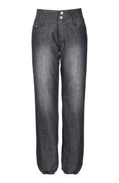 Fede Happy Holly Jeans Line Sort denim fra Halens Happy Holly Underdele til Outlet i behagelige materialer