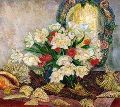 Leon De Smet - Flowers and Shells