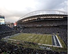 CenturyLink Field~Seattle, WA. Home of the Seahawks!
