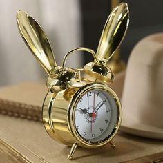 The Emily + Meritt Bunny Alarm Clocks   PBteen
