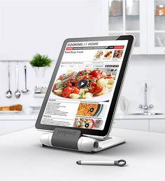 38 meilleures images du tableau support tablette support tablette stand de tablette et lutrin. Black Bedroom Furniture Sets. Home Design Ideas