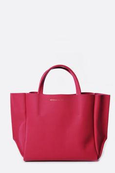 Bright Rose Half Tote by Ampersand as Apostrophe – Roztayger