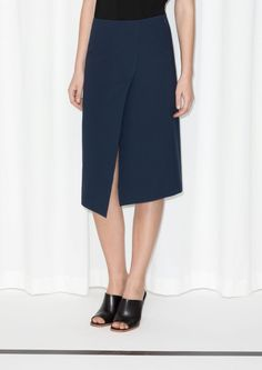 & Other Stories | Asymmetric Skirt