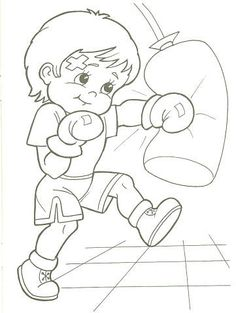 Sports Coloring Pages, Cartoon Coloring Pages, Colouring Pages, Coloring Sheets, Adult Coloring, Coloring Books, Print Pictures, Colorful Pictures, Cartoon Kids
