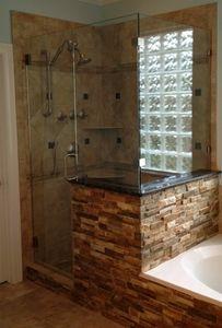 frameless shower door, ARC Glass L.L.C. Houston, Texas Houston, TX Frameless Corner Units