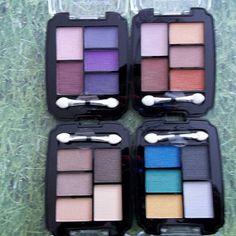 4 Quintet Eyeshadow Palettes