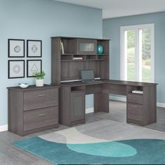 12 Office Desk Redo Ideas for you to renovate your Work space! Home Office Design, Home Office Decor, Home Decor, Home Office Furniture Sets, Desk Redo, Office Set, Office Ideas, Office 2020, Design Living Room