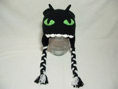 Crochet How to train your Dragon Nightmare Hat by ElenasBabyCorner, $22.00