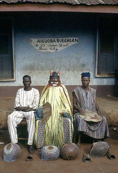 nigerianostalgia:    Ighogho masquerade, Benin City, Nigeria, 1971