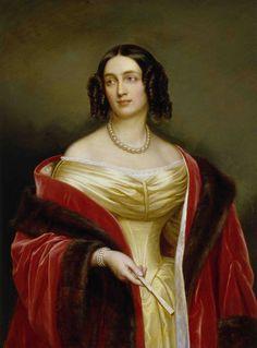 Joseph Karl Stieler nach Robert Bussler - Königin Elisabeth Ludovika von Preussen geb-von Bayern.jpg
