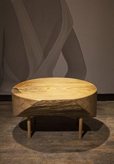 coffee table DOT, massive oak, diameter cca 80 cm, #CupakDesign, #CoffeTable, #WoodenTable, #OriginalTable, #Handmade, #Design, #Table, #ArtisticTable, #CarvedTable, #OakTable #konferenční stůl z masivu #dubový stůl #konferenční stůl #masivní dub #dubový Coffee Table Design, Coffee Tables, The Originals, Furniture, Home Decor, Decoration Home, Low Tables, Room Decor, Living Room End Tables