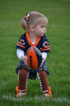 Chicago Bears baby! OMG this will be my daughter!!