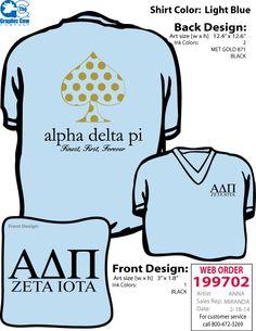 Alpha Delta Pi Zeta Iota Greek Week 2014 Kate Spade Inspired